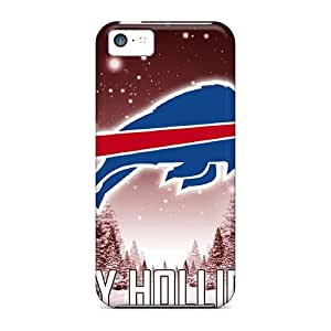 Excellent Cell-phone Hard Cover For Iphone 5c With Customized HD Buffalo Bills Pattern CristinaKlengenberg
