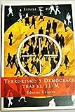 img - for Terrorismo y Democracia Tras El 11-M (Spanish Edition) book / textbook / text book