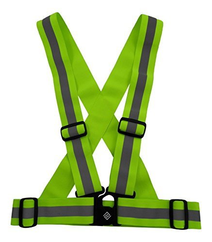 Safety Reflective Vest by Perkeen Products Belt with High...