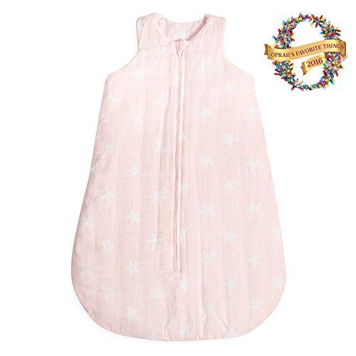 aden + anais Premium Flannel Sleeping Bag, Grace- Xl, Grace, Extra Large by aden + anais