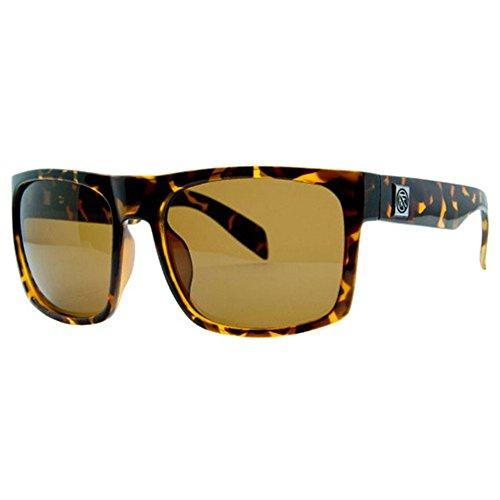 Bronze Lens Gloss Tortoise Frame - Filtrate Eyewear Sink XL Sunglasses, Gloss Tortoise Frame/Bronze Polarized Lens
