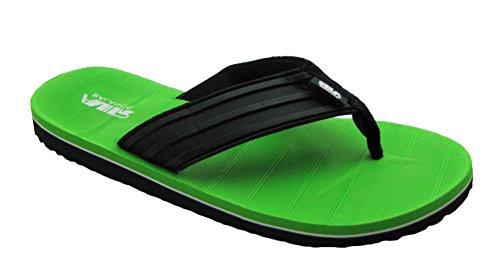 Luft Lyse Fargerike Menns Strand / Dusj Flip Flops Grønn