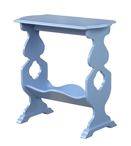 American Heritage Willow End Table, Blue