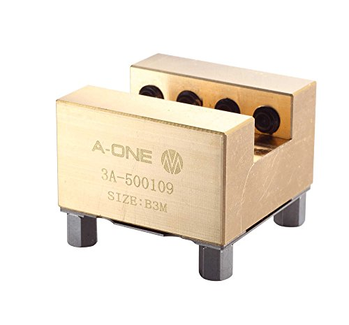 SUNWIN 12PCS/Set Flat Blank 3A-500109 Brass Square Holder for ER010793 Erowa System CNC by SUNWN
