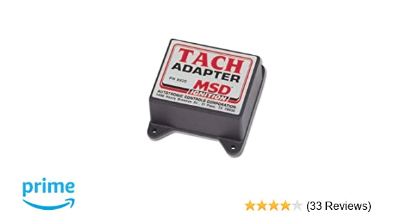 MSD 8920 Magnetic Pickup Tachometer Adapter Magnetic Pick Up With Msd Al Wiring Diagram on