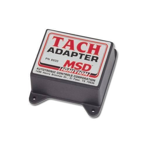 MSD 8920 Magnetic Pickup Tachometer Adapter ()