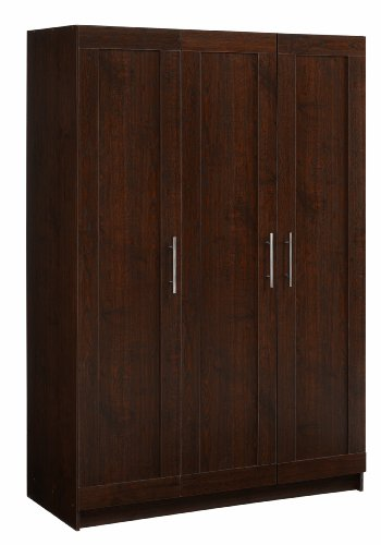 akadaHOME ST106177J 3 Framed Door Wardrobe by akadaHOME