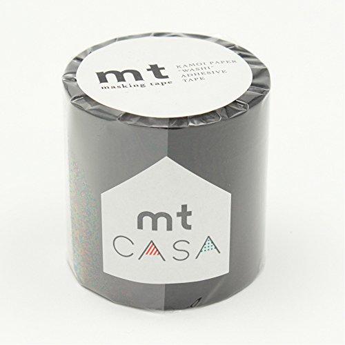 Kamoikakoshi mt CASA 50mm matte black 50mm width X10m winding MTCA5085