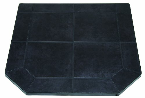 US Stove HS40DLBJT1 American Classics Black Jack Tile Hearth Pad, 40-Inch (American Ceramic Tile)