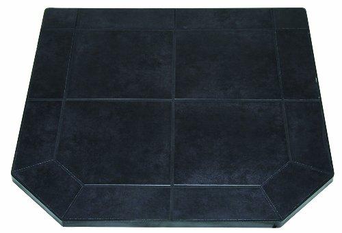 US Stove HS40DLBJT1 American Classics Black Jack Tile Hearth Pad, 40-Inch (American Ceramic Tile)
