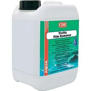 CRC - Limpiador Base Agua Para Todas Las Manchas Provocadas Por La Polución Ambiental Traffic Film Remover Aqua 5 L
