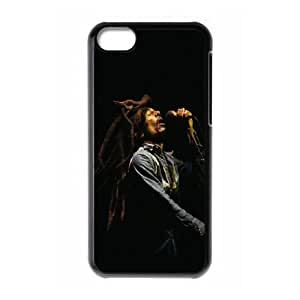 Clzpg Customized Iphone 5C Case - Bob Marley shell phone case