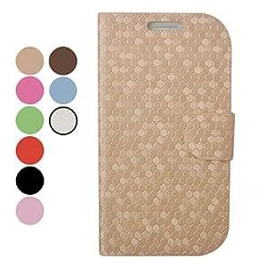 RC - Snake Skin Pattern Leather Full Body Case for Samsung I9300 , Black