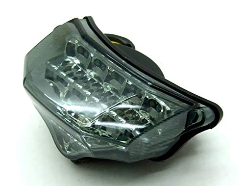 MZS LED Integrated Tail Light Turn Signal Blinker for Yamaha FZ6 FAZER FZ-6 FZ600 2004 2005 2006 2007 2008 (Smoke) by MZS (Image #1)