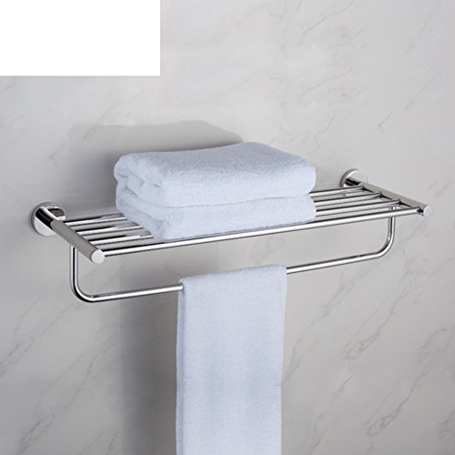 chic Stainless steel Towel rack/Towel shelf /Bathroom accessories bathroom towel rack-A