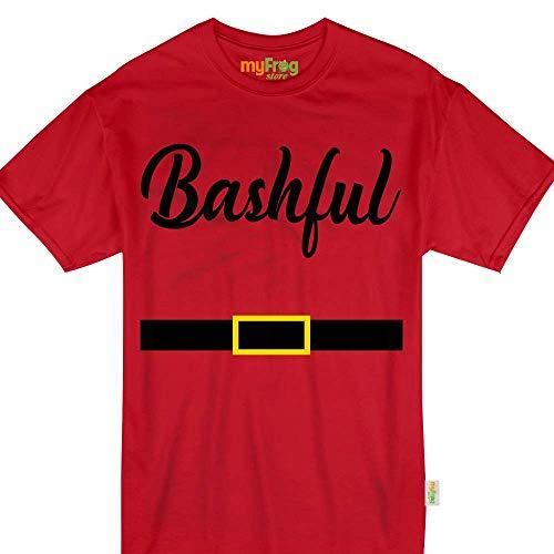 My Frog Store Bashful Dwarf Halloween Family Matching Costume Tshirt -