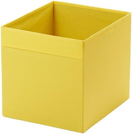 IKEA DRONA – Caja de almacenaje (para estantería EXPEDIT), color amarillo: Amazon.es: Hogar