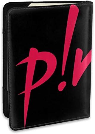 ピンク P!nk Singer パスポートケース メンズ 男女兼用 パスポートカバー パスポート用カバー パスポートバッグ ポーチ 6.5インチ高級PUレザー 三つのカードケース 家族 国内海外旅行用品 多機能