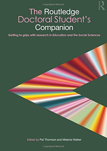 The Routledge Doctoral Student's Companion (Companions for PhD and DPhil Research)