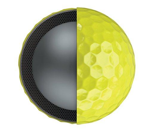 Callaway Golf Chrome Soft X Golf Balls, (One Dozen), Yellow by Callaway