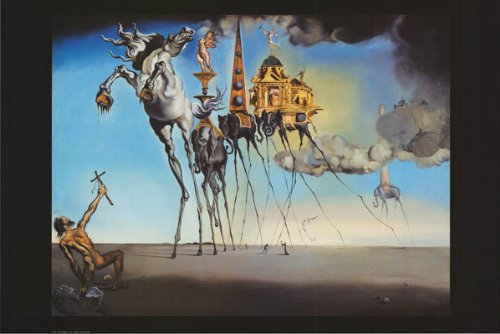 Temptation of St. Anthony by Salvador Dali - 24 x 36 inches