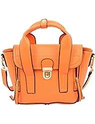 Mellow World Fashion Nikita Mini Satchel, Orange, One Size