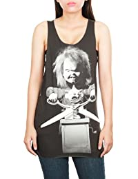 Women's Chucky Doll Child's Play Film Movie Tank Top