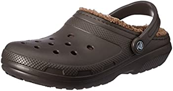 Crocs Men's and Women's Classic Fuzz Lined Clog Shoes