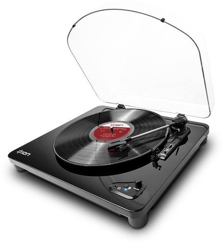 ION Audio Air LP | 3-Speed Belt-Drive Wireless-Streaming Turntable with AutoStop For Use with Bluetooth-Enabled Speakers
