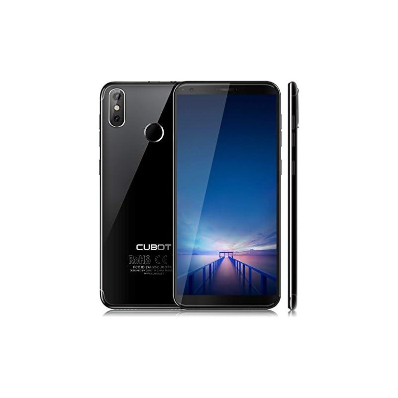 "CUBOT R11 Android 8.1 Smartphone Unlocked, 3G Dual SIM Cellphone, 5.5"",18:9 HD Screen, 16GB ROM+2GB RAM, 2800mAh Battery,13+2MP Dual Rear Cameras, Fingerprint Mobilephone (at&T/T-Mobile)"