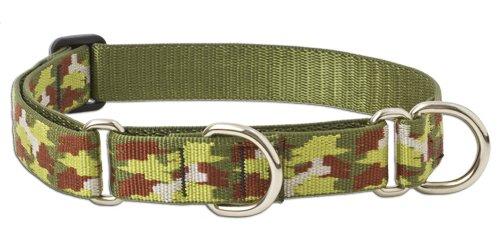"LupinePet 1"" Bone Hunter 15-22 Combo Dog Collar"