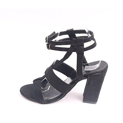 Donyyyy Talón áspero de zapatos de mujer Thirty-five