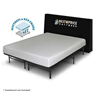 "Amazon Best Price Mattress 7"" Gel Memory Foam"
