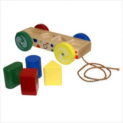 Holgate HZ755 Form Peg Wagon Toy by Holgate (Image #1)