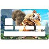 Stickers CB Scrat pour carte bancaire