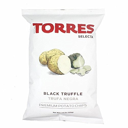 Torres Selecta Black Truffle Potato Chips (Pack of 6)