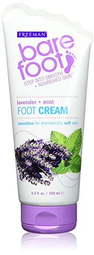 (Bare Foot Cream, Lavender + Mint, 5.3 Fluid Ounce)