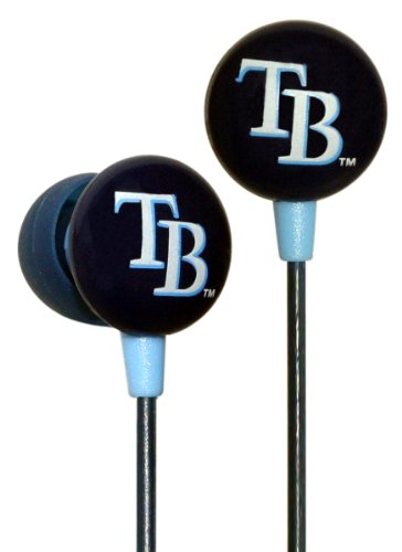 MLB Tampa Bay Rays Ear Phones - Phone Ray