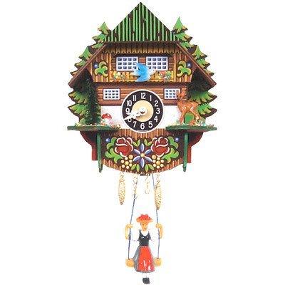 Novelty Cuckoo Clocks - Alexander Taron Seasonal Decorative Collectible Engstler Battery operated Clock Mini Size 6.5