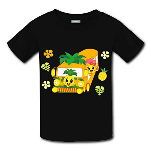 Captain Underpants Costumes Ideas (Cartoon Pineapple Cars Coustom Unisex Kids Sport Short Sleeve T-Shirt Soft Tee Tops XL)
