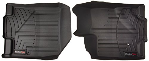 WeatherTech  441101  Custom Fit Front FloorLiner for Ford Edge/Lincoln MKX (Black) - Lincoln Mkx Colors