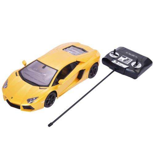 1:14 Lamborghini Aventador LP700-4 Radio Remote Control RC Car Yellow New by Unbranded*