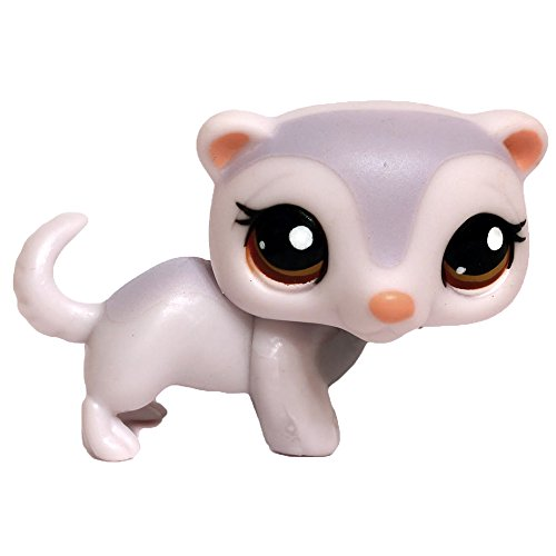 LPS Littlest Pet Shop #1666 Ferret, Collectible Replacement Single Figure Loose (OOP Out of Package)