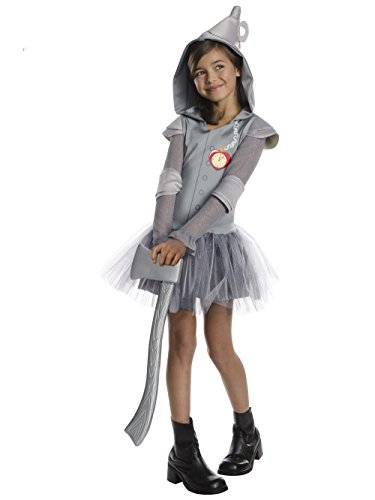 Rubies Wizard of Oz Tin Man Hoodie Dress Costume, Child (Wizard Of Oz Halloween Group Costumes)