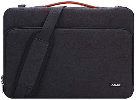 KALIDI 14 inch Laptop Shoulder Messenger Bag Briefcase Sleeve Case 360/°Full Protection for 13-14 inch MacBook//Dell//Acer//Lenovo//HP Travelling Business College Office Black#1