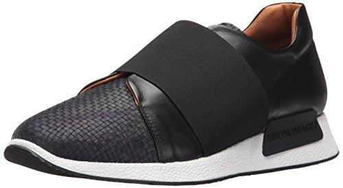 Sneaker Navy Tessuto Moda Dado Da Uomo Bruno Magli