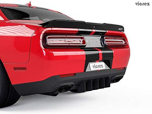 Vicrez Genali Rear Diffuser Add-on vz101399 for Dodge Challenger 2015-2019