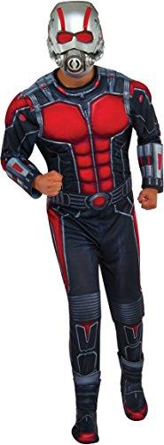 Rubie's Costume Co Men's Ant-Man Deluxe Costume, Multi, (Ant Man Movie Costume)