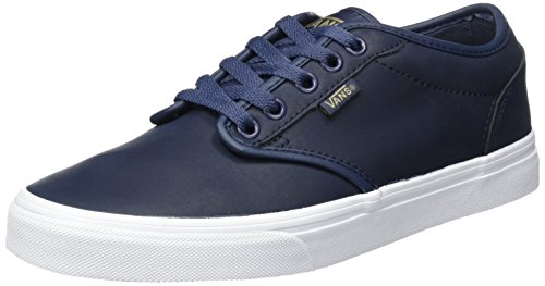 Fourgons Herren Mn Baskets Atwood Blau (cuir)