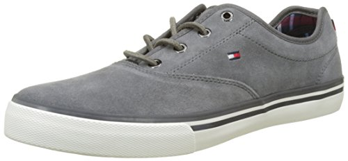 Tommy Homme P2285aulie Basses 7b Grey Gris Hilfiger Steel rqfwARH4rS